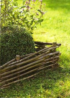 garden fence - Pinned by The Mystic's Emporium on Etsy