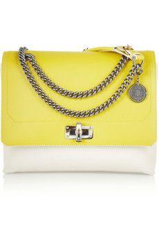 Lanvin Happy medium leather shoulder bag | NET-A-PORTER