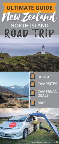 Thinking of taking an EPIC ROAD TRIP around the North Island of New Zealand? Well, I have the budget guide for you! Camping New Zealand, New Zealand Travel Guide, Road Trip New Zealand, New Zealand Itinerary, New Zealand Campervan, North Island New Zealand, New Travel, Luxury Travel, Cheap Travel