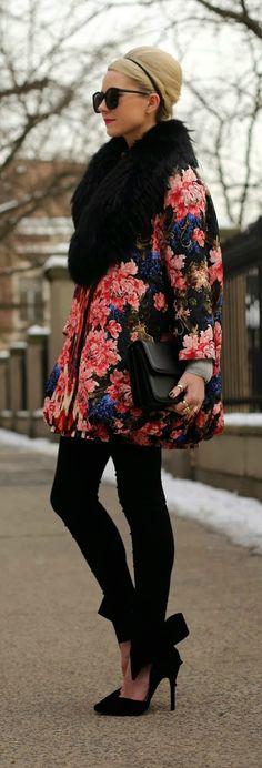""" Winter Floral Alantic-Pacific """