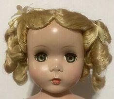 "Maggie Madame Alexander 17"" Teen Hard Plastic Strung Doll Vntg 1948-54 R&B Dress | eBay Face Mold, Dolls For Sale, Madame Alexander, Teen, Plastic, Ebay, Dresses, Vestidos, Dress"