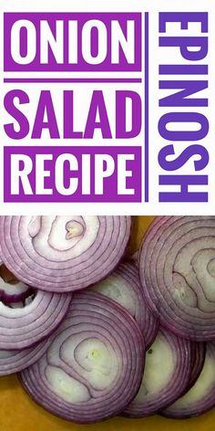 Today we are going to tell you how to prepare a delicious onion salad. Don't Panic! The intense flavor of the onion will be enriched by a fresh herb marinade and a sweet air when cooking the grilled onions.