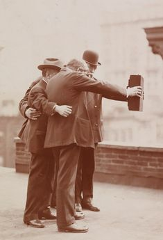 A photographer named Joseph Byron might be responsible for taking the first ever selfie in the 1900s— see the vintage snaps here