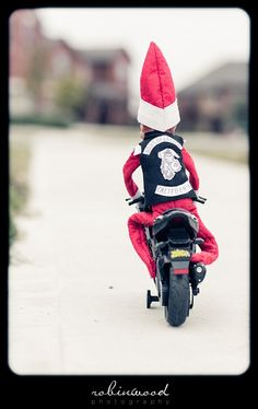 Elf on the Shelf - Sons of Anarchy STFU! @Stephanie Close Close Francis R.