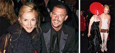 Daphne Guinness with Alexander McQueen