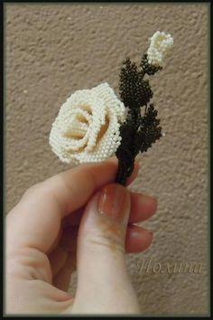 Роза в стиле сепия.