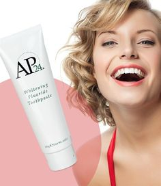 AP 24 Anti-Plaque Fluoride Toothpaste uses a safe, gentle form of fluoride to remove plaque and protect against tooth decay. Nu Skin, Ap 24 Whitening Toothpaste, Diy Beauty Secrets, Beauty Tips, Daily Beauty, Beauty Products That Work, Good Skin, Skin Care Tips, Tooth Paste