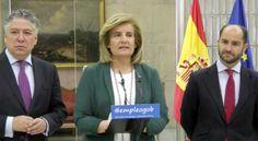 Fátima Bañez, ministra de empleo y seguridad social, ha instado a sindicatos y patronal