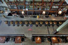 Το όνομα του Osterman Bar & Dining Room είναι εμπνευσμένο απο το κλασικό κατασκοπικό θρίλερ «The Osterman Weekend» και ο χώρος είναι το παλιό υφασματάδικο Συμεωνίδη! #bars #athens #greece Cafe Bar, Cafe Restaurant, Hotels, Book, Belle Epoque, Book Illustrations, Books