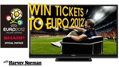 Competition Ireland Euro 2012 Ireland tickets - with full UEFA hospitality (DOES NOT include flights, accommodation or spending money) Harvey Norman, Euro 2012, Win Tickets, Hospitality, Poland, Competition, Money, Silver