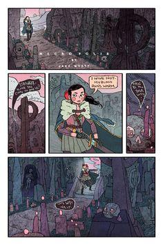 NECROPOLIS by JakeWyatt.deviantart.com on @deviantART