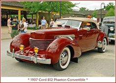 Best classic cars and more! American Classic Cars, Old Classic Cars, Auto Retro, Retro Cars, Austin Martin, Cord Automobile, Cord Car, Classy Cars, Fancy Cars