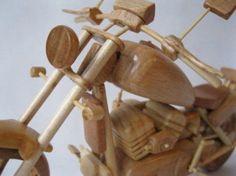Miniature Wooden Bikes