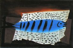 "Pablo Picasso - ""Fish"". 1922"