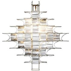 Max Sauze 'Cassiopée' Chandelier | From a unique collection of antique and modern chandeliers and pendants at https://www.1stdibs.com/furniture/lighting/chandeliers-pendant-lights/
