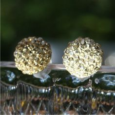 Nickel Free Earrings - Champagne on Ice - Cheers! Your nickel allergies are over