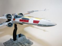 Bandai x Star Wars 1/72 X-Wing Starfighter PAINTED BUILD: Full Detailed Photoreview with No.62 Hi Res Images!!!!! http://www.gunjap.net/site/?p=220571