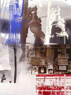 Rauschenberg. fui a esta exposición en los 80s en el museo de arte contemporaneo de caracas