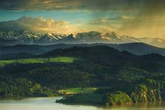 Tatras And Czorsztyn Lake, Poland