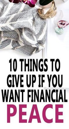 Financial peace - many of us want it, but we don't know how to get it. Here are 10 things you can do to bring a little financial peace into your life. via @lifeandabudget