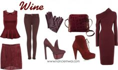 wine fashion | Colour Of The Week: Wine | Fashion Notebook