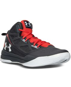 f81491c44d79 Under Armour Men s Jet Mid Basketball Shoes - Grey Black Blue in ...