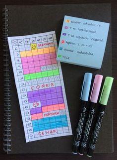2da4be39bbc Nuevo método para planificar el estudio diario + Descargable planificador  semanal muy molón*