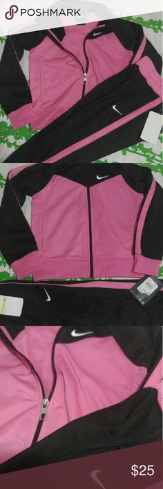 Nike Girls track suit Brand new and authentic! Regularly priced at $68 Nike Matching Sets