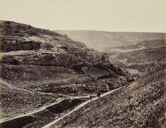 2 aprile 1862. Il villaggio di Siloe, Gerusalemme