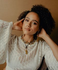 Nathalie Emmanuel The New York Times August 2019 Dear Future Husband, Future Wife, Nathalie Emmanuel, Online Photo Gallery, English Actresses, Face Claims, Kylie Jenner, Curly Hair Styles, Beautiful Women