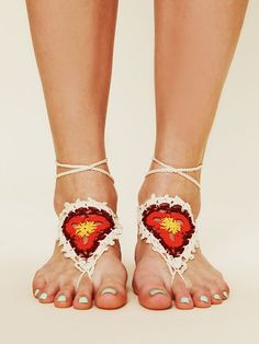 Free People Crochet Sun Foot Tie, Mex$146.90