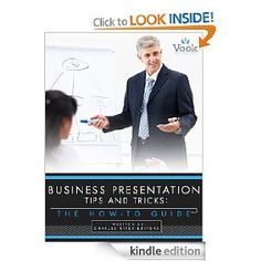 Business Presentation Tips and Tricks