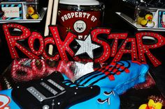 rock star decor
