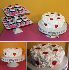Valentines cake - decorating idea