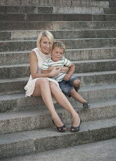 Tomek z mamą Ewą | Fotografia Dziecięca, rodzinna i portretowa