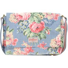 Cath Kidston Flap Crossbody Bag ($60) ❤ liked on Polyvore featuring bags, handbags, shoulder bags, purses, man bag, leather handbags, crossbody handbags, leather cross body purse and leather crossbody purse