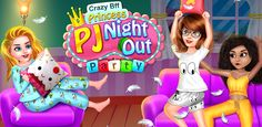 Play this Wonderful and perform a collection of with Pajama Party Games, Free Games For Kids, Crazy Girls, Fun Activities, Bff, Night Out, Play, Princess, Guys