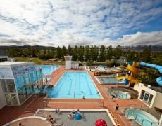 This fabulous pool & spa facility is steps away from Icelandair Hotel Akureyri.