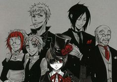 He is the butler of the Phantomhive household and acts as Ciel's bodyguard, two jobs he is completely devoted to.