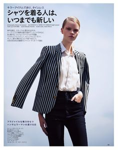 linde and diana moroz by akinori ito for spur august 2014