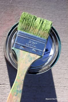How to Create a Weathered Paint Finish