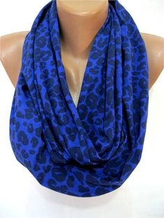 ON SALE Leopard Scarf Infinity Scarf Shawl Circle by SmyrnaShop, $12.90