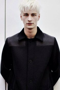 Benjamin Jarvis at Duckie Brown f/14 NYFW