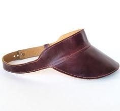 Rockafellow Leather Visor | Right Tribe