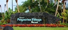 Disney's Polynesian Village Resort from yourfirstvisit.net
