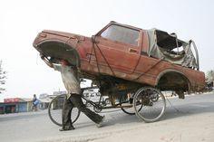 Подборка безумных перевозок грузов