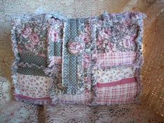 Shabby Bags Easy Rag Quilt Bag Tote Purse by ShabbyBags on Etsy