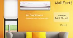 Truth to be told, you can't #BeatTheHeat without these. Get the best deal on #AirConditioners