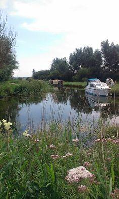 Wicken Fen, Cambridgeshire. The River Cam comes right into this fen.