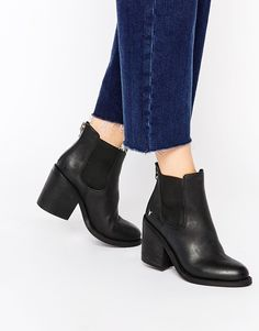 Windsor+Smith+Mary+Black+Leather+Zip+Back+Heeled+Ankle+Boots